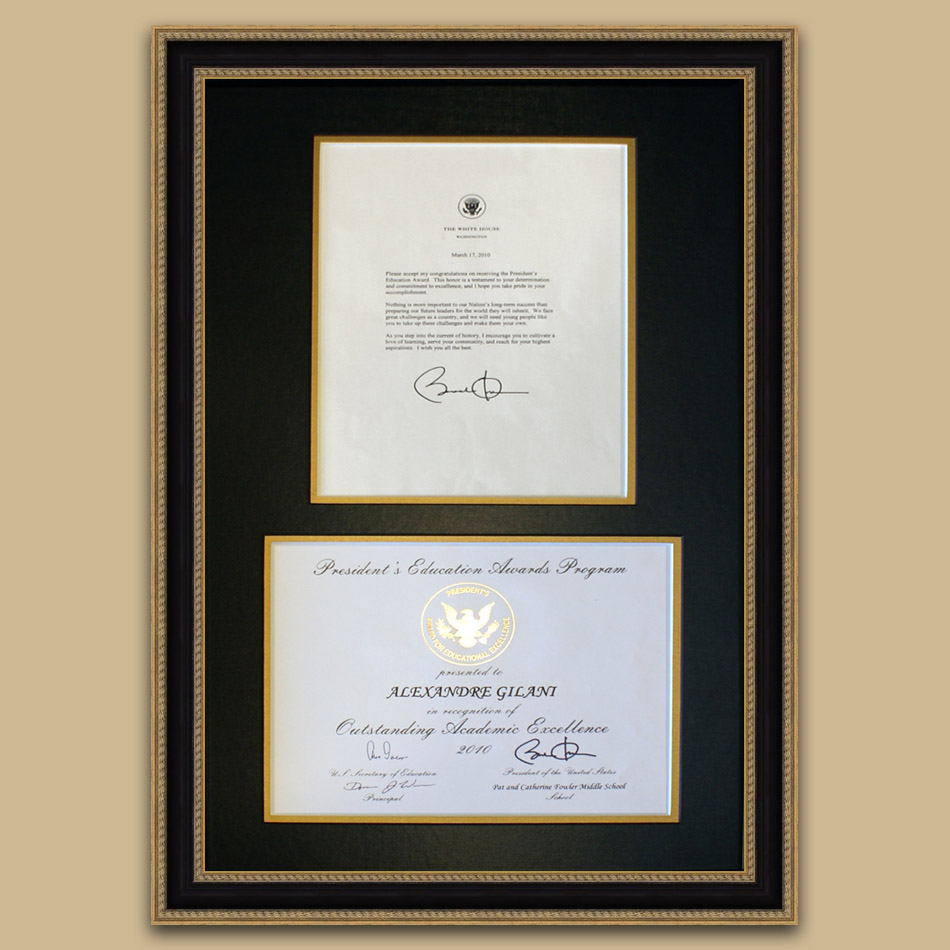 Diploma frames and achievements arthaus custom picture framing one thing we pride ourselves is our ability to combine the finest quality craftsmanship with the flexibility of a wide ranging custom framing designs jeuxipadfo Image collections