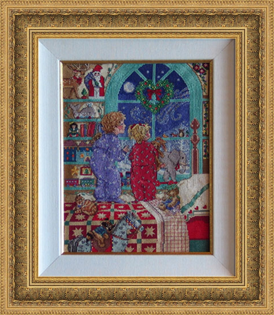 Needlepoint, Cross Stitch & Fabric Art - ArtHaus Custom Picture Framing