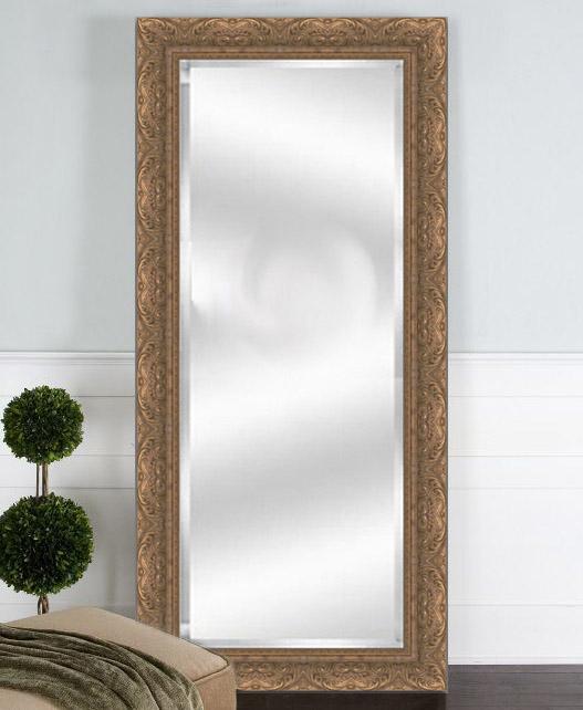 Custom mirror framing